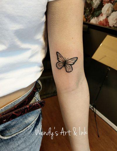 vlinderarm
